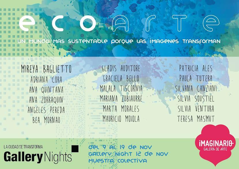 """Gallery Nights """"Eco arte"""""""